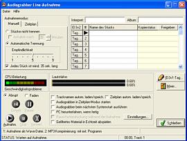 Audiograbber Screenshot 3
