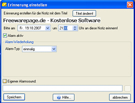 Klebezettel Screenshot 2
