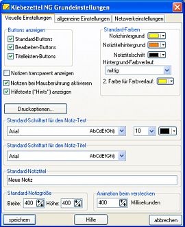 Klebezettel Screenshot 3