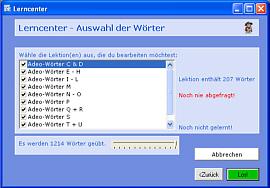 Noctua_Vokabeltrainer Screenshot 3